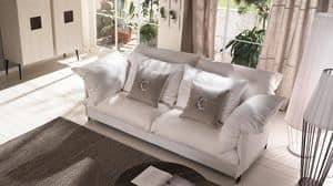 Tango Sofa, Sofa mit Metallrahmen, anpassbare Beschichtung