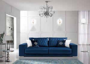 TESLA, Modernes Sofa für alle Umgebungen