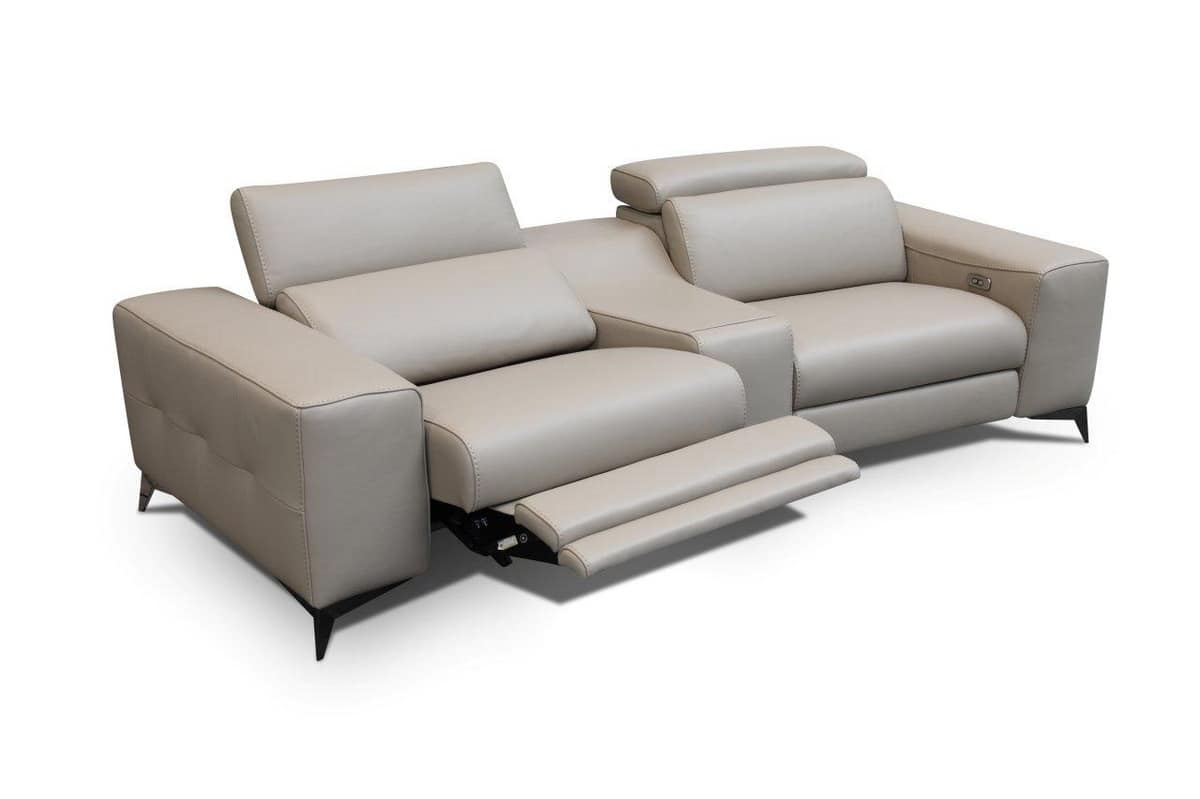 Modernes Sofa modernes sofa mit elektromotoren für senioren idfdesign