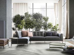 Time, Sofa lineares Design, ikonisch und raffiniert