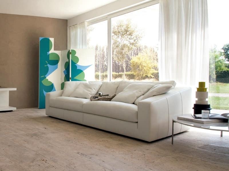 modulares system von sofas weich und tief sitz idfdesign. Black Bedroom Furniture Sets. Home Design Ideas