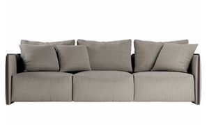 Trust Sofa, Modulares Sofa mit Eckelementen und Chaiselongue
