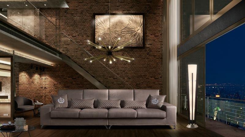 VOJAGER, Modernes Sofa, modular, mit abnehmbarer Polsterung