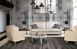 W02S, Handgefertigtes Sofa für Wohnzimmer