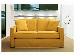 Wind, Moderne Sofa in Polyurethanschäumen, Holzrahmen