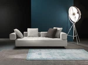 Zoom, Sofa mit abnehmbarem Stoff, für trendige Lounge-Bereich
