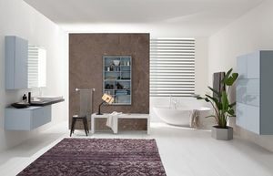 Byte 2.0 comp.07, Modulares Badezimmerschrank, moderner Stil
