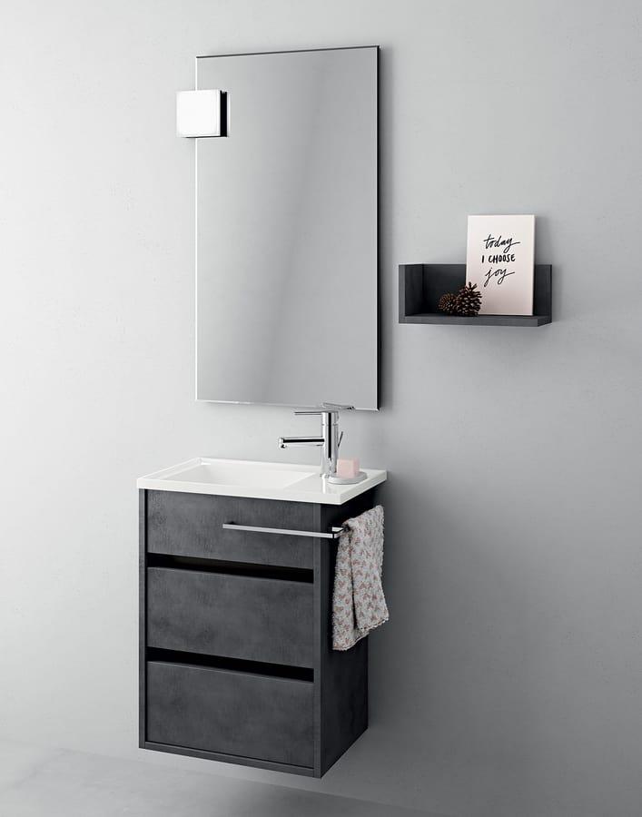 Platzsparender Badezimmerschrank Moderner Stil Idfdesign