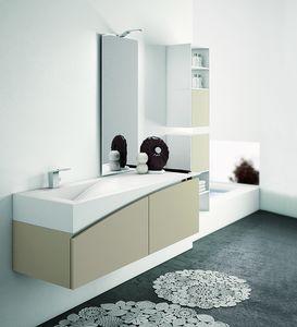 FLY 11, Badezimmermöbel komplett mit Schrankwand