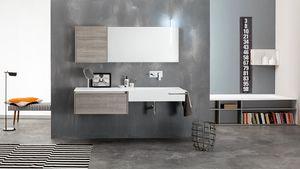 Kami comp.16, Modulare Badezimmerzusammensetzung, moderne Art