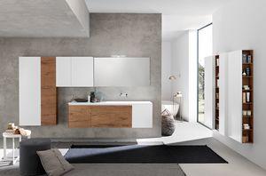 Lime 2.0 comp.20, Badezimmermöbel mit geräumigen Wandkästen