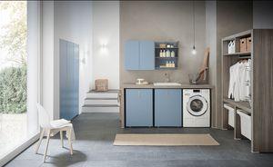w sche m bel mit dem trocknen und spiegel idfdesign. Black Bedroom Furniture Sets. Home Design Ideas