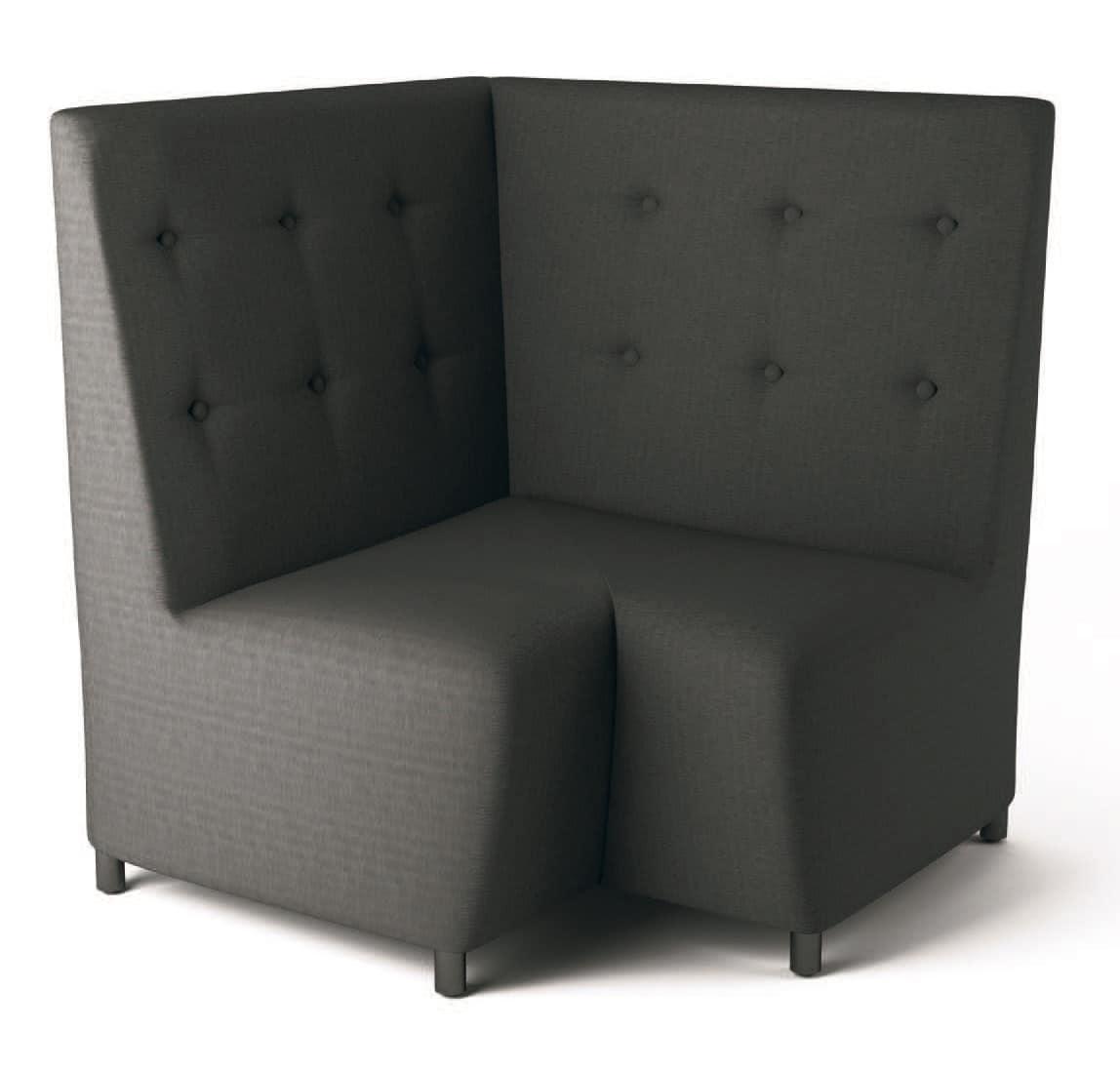 PL Himmel, Modulares Sofa mit Holzrahmen, für das Büro