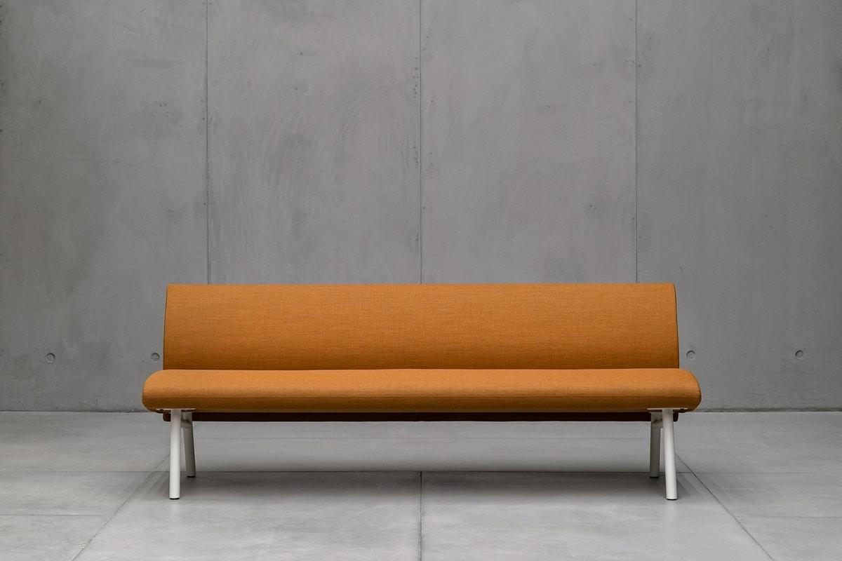 Tuile bench, Modulares Sitzsystem