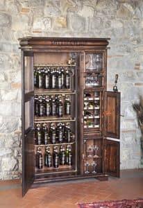 Art. 585, Holz Weinregal für Tavernen und Kneipen