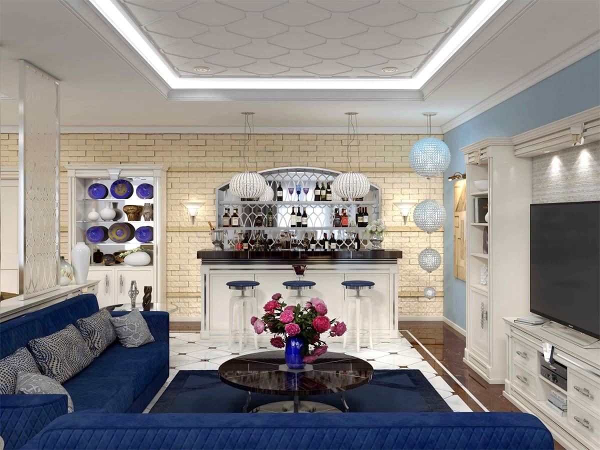 Möbel für die Bar-Ecke, luxuriös | IDFdesign