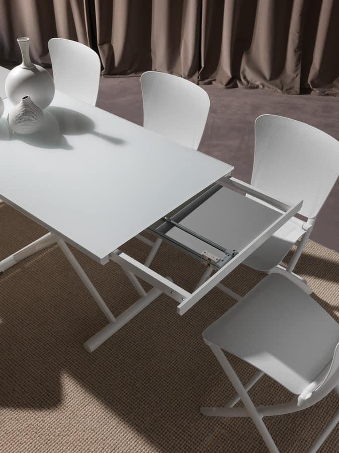 cabrio tisch mit einstellbarer höhe | idfdesign, Hause ideen