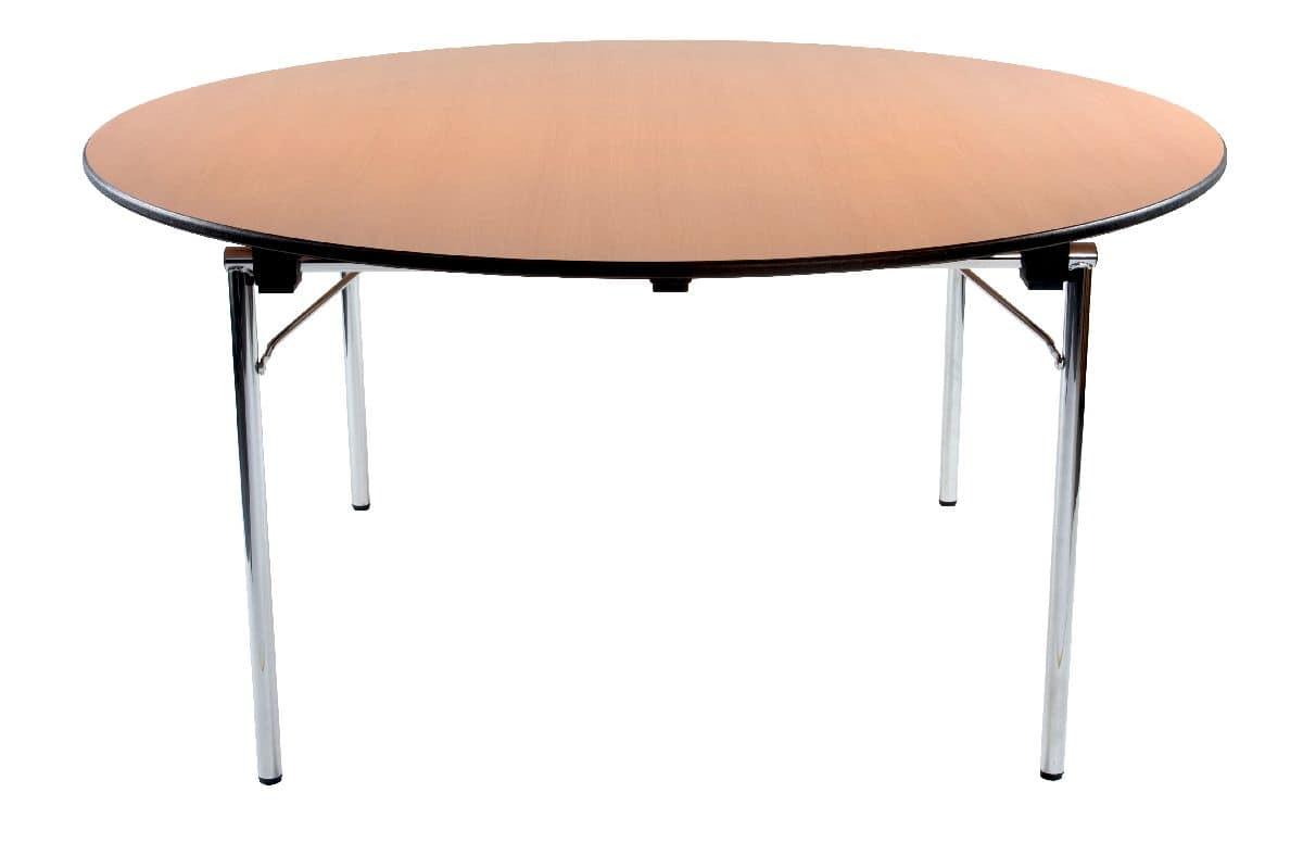 Conference 1645, Tisch mit klappbaren Beinen geeignet für Tagungen, Multifunktionstisch für Konferenzen