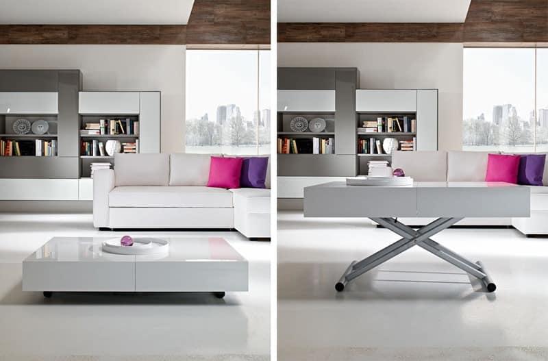 Transformtisch, höhenverstellbar, für Hotel  IDFdesign