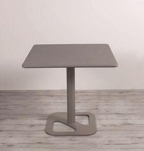 Outline, Höhenverstellbarer Tisch mit Glasplatte