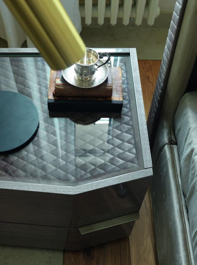 moderne nachttische free nachttische fur weia grau. Black Bedroom Furniture Sets. Home Design Ideas