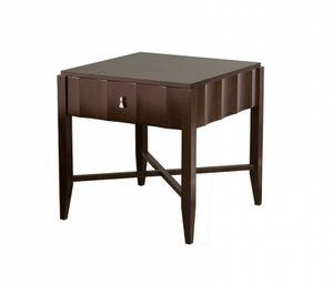 Heritage Nachttisch mit 1 Schublade, Holz-Nachttisch mit Schublade