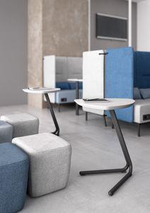 Eos, Beistelltisch für Sofas und Sitzpuffs