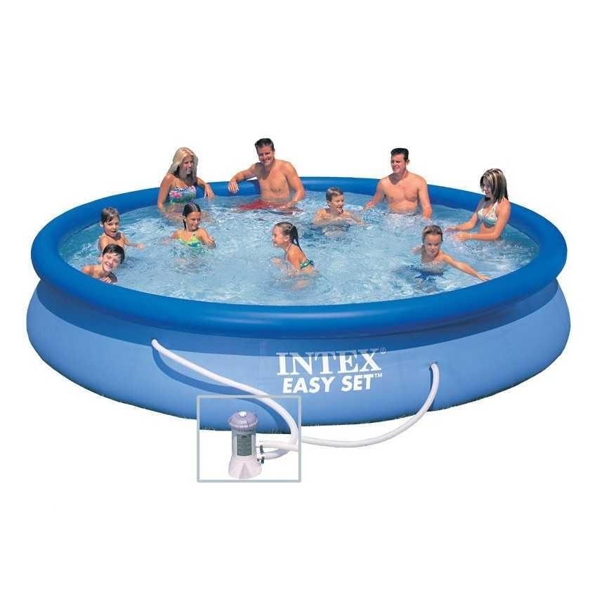 Großer aufblasbarer Pool für den Außenbereich | IDFdesign