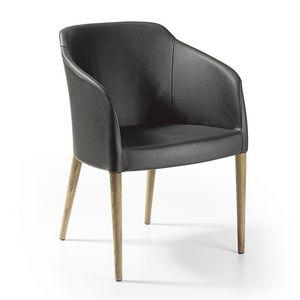 Brigitte pl Holz, Sessel für Wartebereich und Entspannung