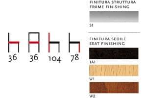 538, Barhocker aus gebogenem Stahl, runde Sitzfläche, für Snack-Bars