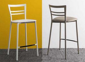 Aeffe Sedie e Tavoli, Hocker aus Metall und anderen Materialien