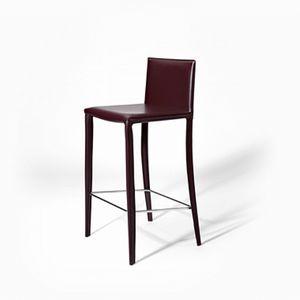 Jury SG, Moderner Barstuhl aus Leder, für Küchen und Restaurants
