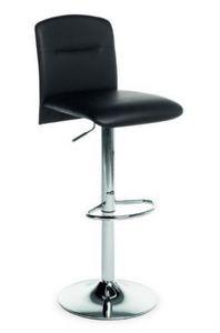 Samba SG, Hocker höhenverstellbar mit gepolsterter Sitz und Rücken