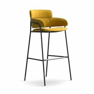 Strike ST, Moderne und robuste Hocker, verschiedene Beschichtungen, für Bars