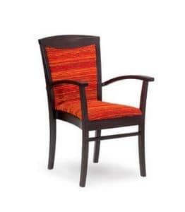 407/P STK, Stapelbare Sessel für Wohn-und Objektbereich