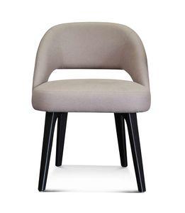ART. 3369, Kleiner Sessel mit Eukalyptusbeinen