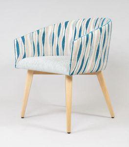 BS499A - Stuhl, Gepolsterter Stuhl im zeitgenössischen Stil