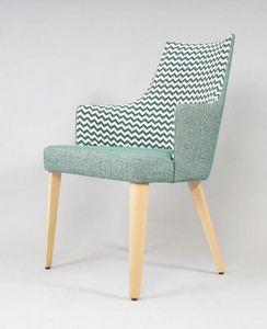 BS525A - Stuhl, Gepolsterter Stuhl für Hotels
