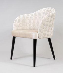 BS529A - Stuhl, Gepolsterter Stuhl für die Hoteleinrichtung