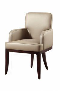 Chelsea Stuhl, Stuhl mit Armlehnen, gepolstert, für den Vertrag Gebrauch