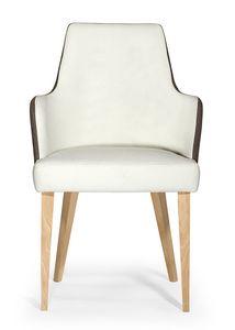 Daisy ARMS, Sessel mit modernem Design, für den Objektbereich