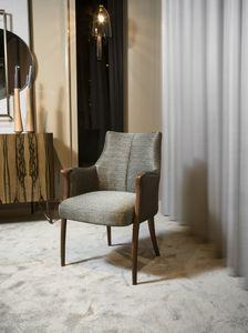 DEMETRA kleiner Sessel GEA Collection, Bequeme gepolsterte kleine Sessel