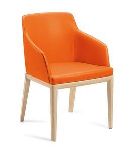 Dena PL, Stuhl mit Kunstleder bezogen