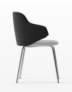HOST, Sessel mit Stahlbeinen