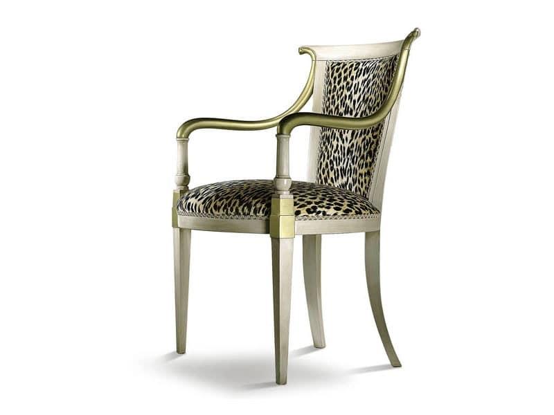 JENNY armchair 8267A, Klassischer Sessel mit gut geformten Armlehnen