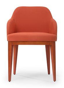 Kate soft ARMS, Sessel mit einer umhüllenden Form