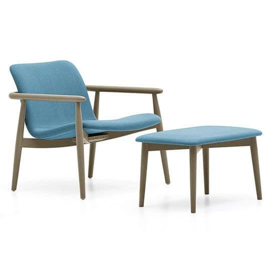 Lapis Lounge, Lounge Sessel Mit Padupholstered Sitz Für .