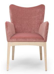 Love ARMS, Kleiner Sessel mit geformter Rückenlehne
