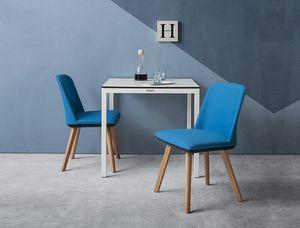 Manaa Slim, Stuhl für Restaurant und kommerzielle Einstellungen