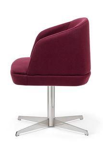 Noemi ARMS 2, Gepolsterter kleiner Sessel für den Objektbereich